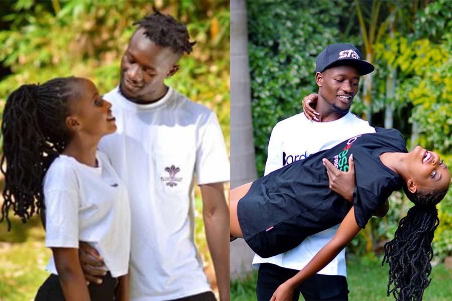 Kenyan Youtuber Mungai Eve with photographer boyfriend, Trevor