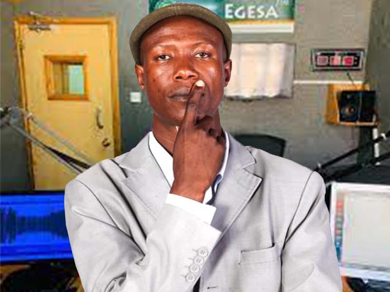 Kisii comedian Okebiro Omose remembered by Egesa FM presenters on his death anniversary