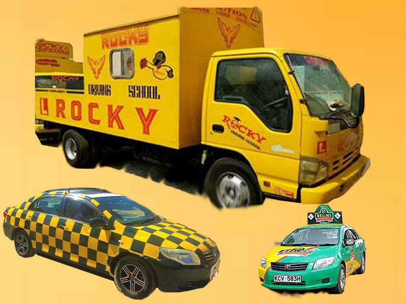 List of best driving schools in Kisii Kenya, fee structure, Rocky, Belins, AA, KTC, and Imperial contacts