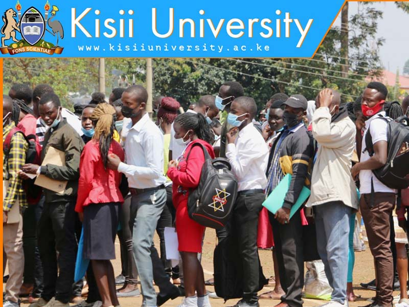 Thousands of freshers admitted at Kisii University amid heated concerns of a possible academic crisis