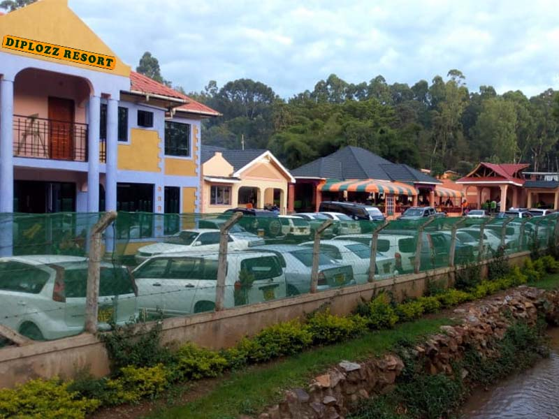 5 facts about Diplozz Resort Kisii near the People's Park, tycoon owner Alloys Moseti, contacts