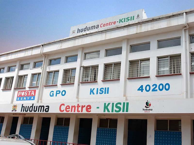Where is Huduma Centre Kisii List of 3 things on Huduma Kenya location, services, and contacts