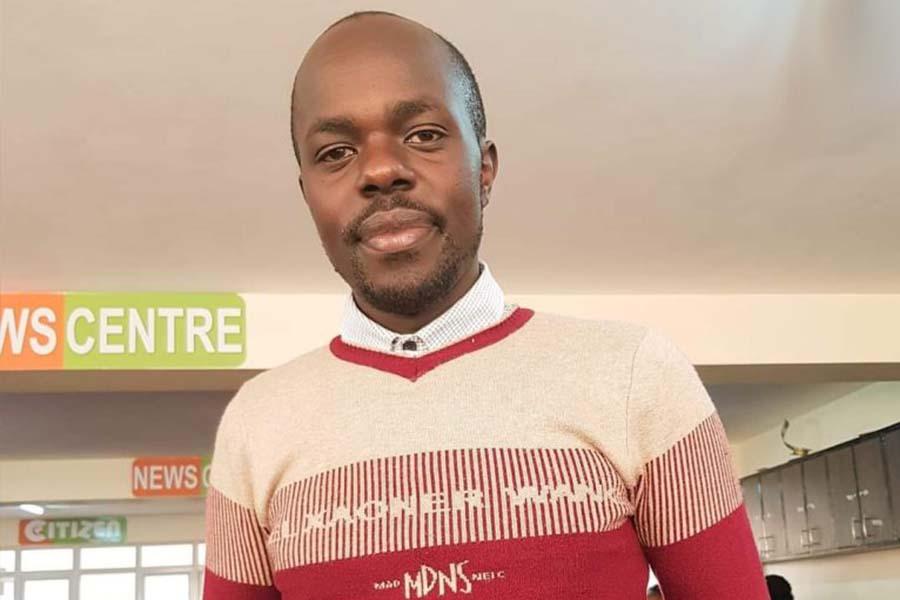Famous Citizen TV reporter Makori Ongechi