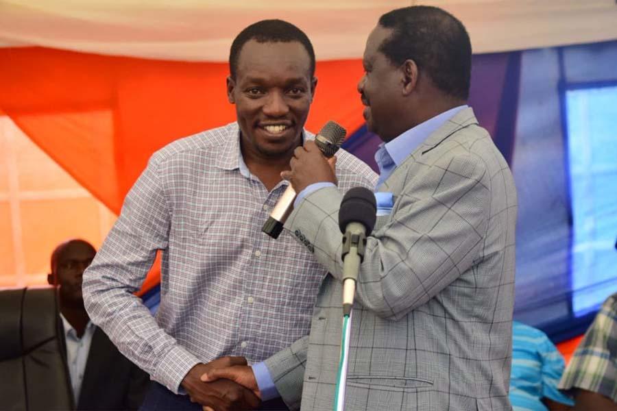 Hon Paul Simba Arati, a prominent Kisii youth politician