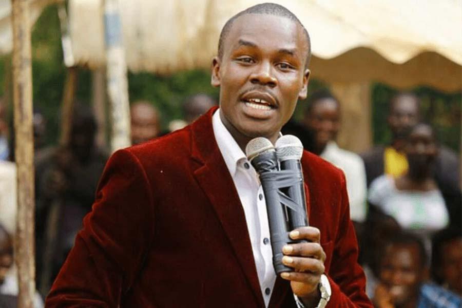 Kisii County MP Silvanus Osoro Onyiego