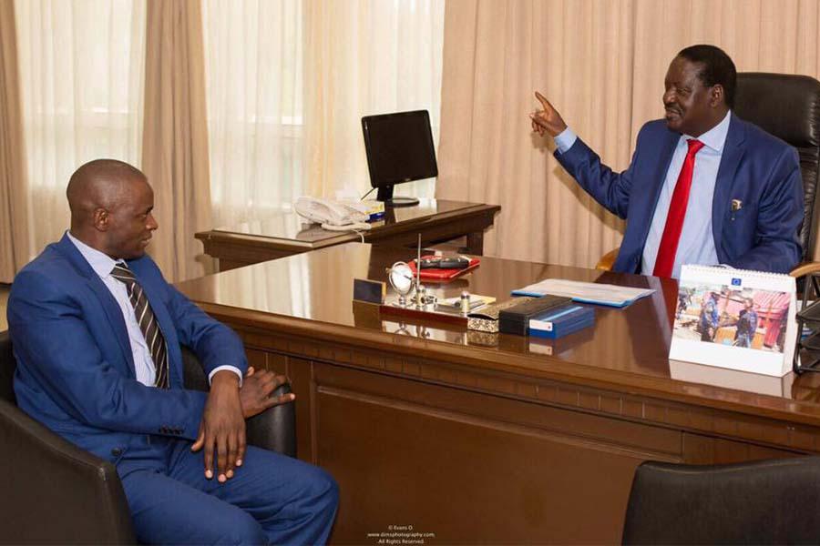 Kisii County Senator aspirant Samuel Okemwa contacts