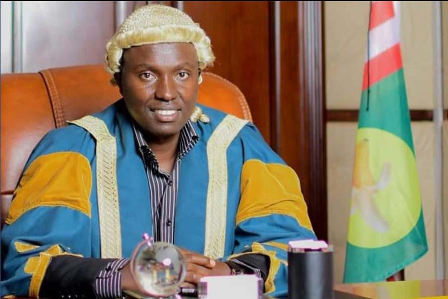Nyamira County Speaker, Moffat Teya